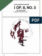 Vals Op.8,No.3 Richard d.stover