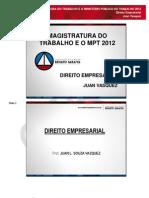 195 2012-03-21 Magistratura e Mpf Direito Empresarial 031312 Mag e Mpt Dir Empresarial Aula 01 e 02