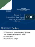 Seminar 3 - 2013 the Bretton Woods System[1]