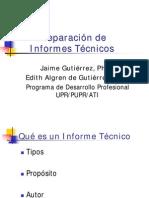 Preparacion de Informes Tecnico1