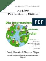 Mémoria modulo_5 Racismo y Discriminación 2009.pdf