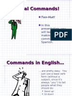 Formal Commands in Spanish