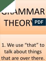 Grammar Theory 1