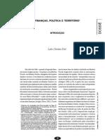 Finanças, Política e território