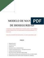 Manual de Bioseguridad