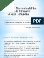 Diagnóstico Eléctrico -  Granja Rinconada del Sur final
