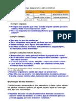 Pronome s Demonstrativo - Dicas