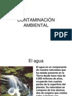 Tipos de Contaminantes Agua Aire Suelo