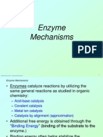 Enzyme Mechanisms 1