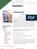 Administracion Ii_ Integracion