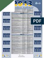 Calendario Academico 2013