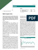 Global Markets Update Markt Vergeet Crisis