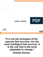 """The Future is Now Anton Herbst """"It is Not"""