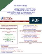 DIRECCIONES PARA BAJAR VIDEOS Y POWER POINTS.doc
