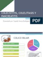Colecistitis, Colelitiasis y Pancreatitis