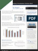 Nutanix VDI Solution Brief