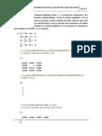 Laboratorio #2 Algebra