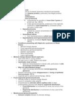 1 glomerlonephritis