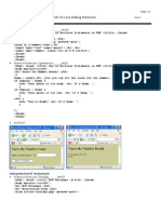 MELJUN CORTES PHP & HTML Forms With Decision Making Statements