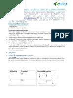 Receiver Side Components Description Using MATLAB