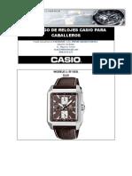 Catalogo de Relojes Casio-Agosto