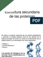 1.3 Estructura 2aria, 3aria y 4aria, Plegamiento, Desnat