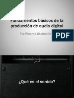 Fundamentos básicos de la producción de audio digital