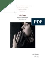 Joana Espadinha - Amor à última vista - conto de Mia Couto