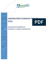 CONTRACTOR'S SCHEDULE TOOLKIT FOR p6