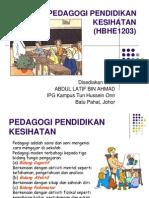 Pedagogi Pendidikan Kesihatan_t1