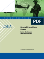 Special Operation Forces