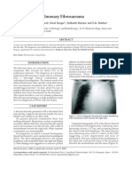 Giant Primary Pulmonary Fibrosarcoma 2009