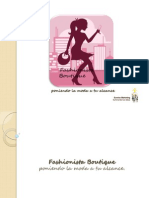 Presentacion Fashionista