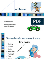 Slaid Kata Ganti Nama 1
