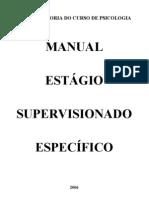 Manual Estagio 2006 1 Especifico