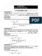 Problems and Solutions on Electricity and Magnetism