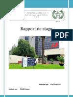 Rapport de Stage-ocp