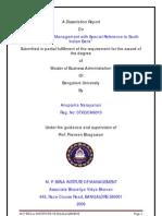 Analysis of NPA Management