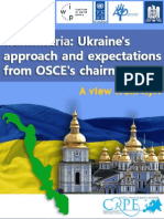 Policy Memo 32 Transnistria Romania Ukraine Views From Kyiv