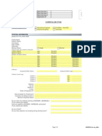 Barbanel CV Form