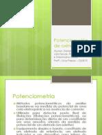 Potenciometria de Oxirredução - Pré-lab