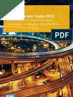 Mobile Operator Guide 2013