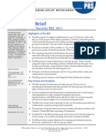 Legislative Brief National Food Security Bill 2011