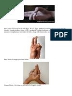 Pozitia Mainilor in Meditatie Si Pentru Diverse Afectiuni