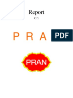 Marketing report on PRAN