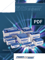 Power-sonic Battery Guide