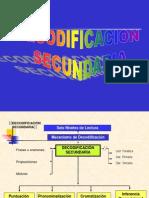 Decodificacion Secundaria