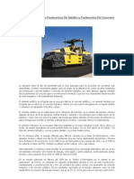 Comparativas Entre Pavimentos de Asfalto y Pavimentos de Concreto