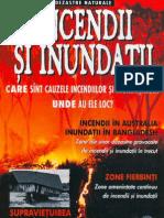 Colectia dezastre naturale - Incendii si inundatii