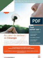 Au coeur du secteur de l'énergie. Guide carrières EmploiPro